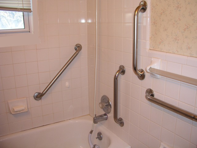 Beau Bathroom Hand Rails For Handicapped People In Union Lake, Michigan, 48387,  248 329 3755