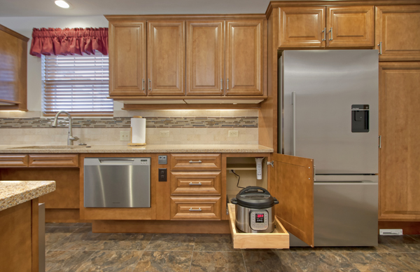 Barrier Free Kitchen Remodeling And Construction In Utica Michigan 48315